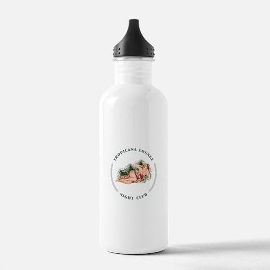 Tropicana Lounge Girl 2 Water Bottle