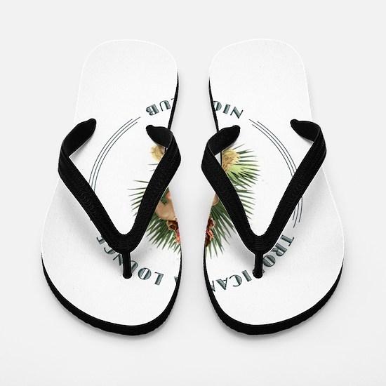 Tropicana Lounge Girl 1 Flip Flops