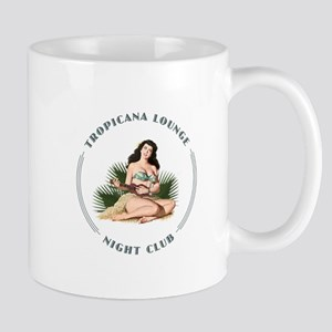 Tropicana Lounge Girl 3 Mug