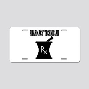 Pharmacy Technician Rx Aluminum License Plate