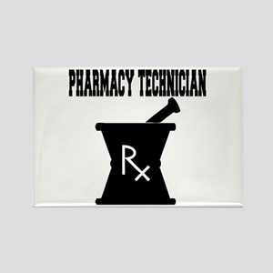 Pharmacy Technician Rx Rectangle Magnet