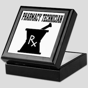 Pharmacy Technician Rx Keepsake Box