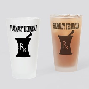 Pharmacy Technician Rx Drinking Glass