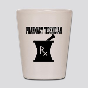 Pharmacy Technician Rx Shot Glass