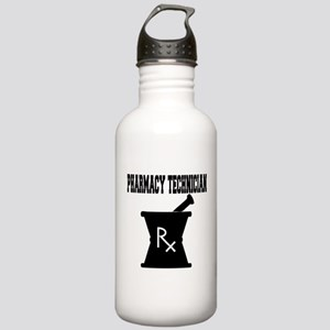 Pharmacy Technician Rx Stainless Water Bottle 1.0L