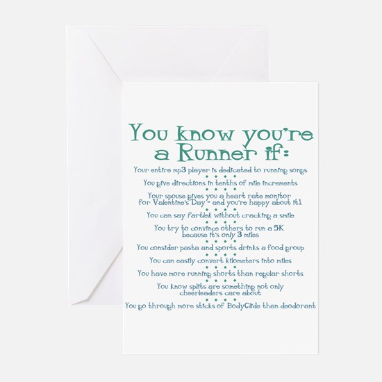 You Know You're a Runner If Greeting Cards (Packag