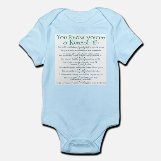 You Know You're a Runner If Infant Creeper