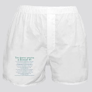 You Know You're a Runner If Boxer Shorts
