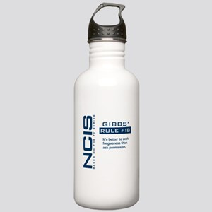 NCIS Gibbs' Rule #18 Stainless Water Bottle 1.0L