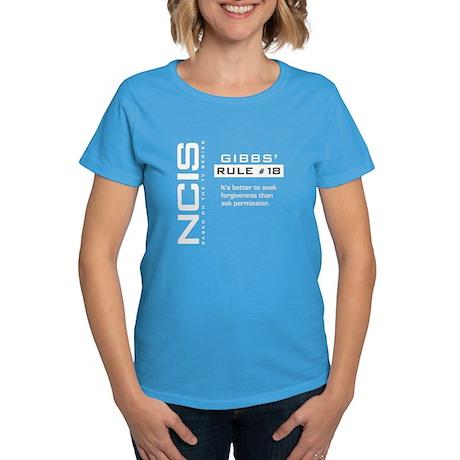 NCIS Gibbs' Rule #18 Women's Dark T-Shirt
