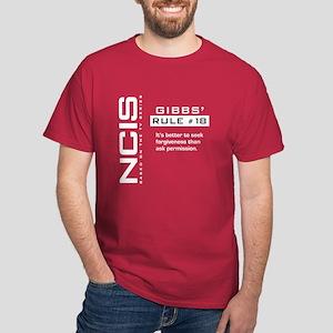 NCIS Gibbs' Rule #18 Dark T-Shirt