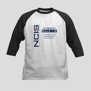 NCIS Gibbs' Rule #18 Kids Baseball Jersey