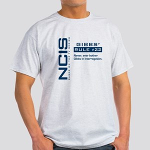 NCIS Gibbs' Rule #22 Light T-Shirt