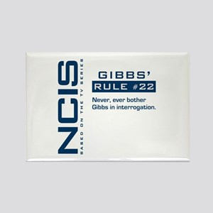 NCIS Gibbs' Rule #22 Rectangle Magnet