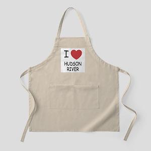 I heart hudson river Apron