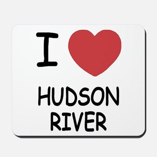 I heart hudson river Mousepad