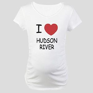 I heart hudson river Maternity T-Shirt