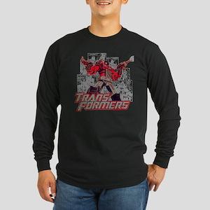 Transformers Comic Book Long Sleeve T-Shirt