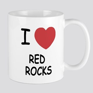 I heart red rocks Mug