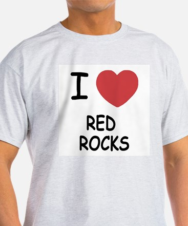 I heart red rocks T-Shirt