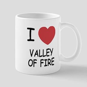 I heart valley of fire Mug