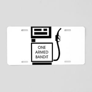 Gas Bandits Aluminum License Plate