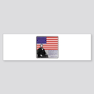 Lincoln Sticker (Bumper)