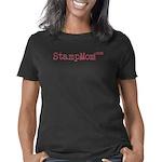 stampmom_rose_trans Women's Classic T-Shirt