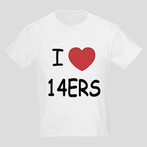 I heart 14ers Kids Light T-Shirt