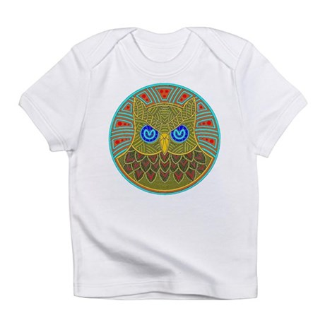 Vintage Owl Mandala Infant T-Shirt