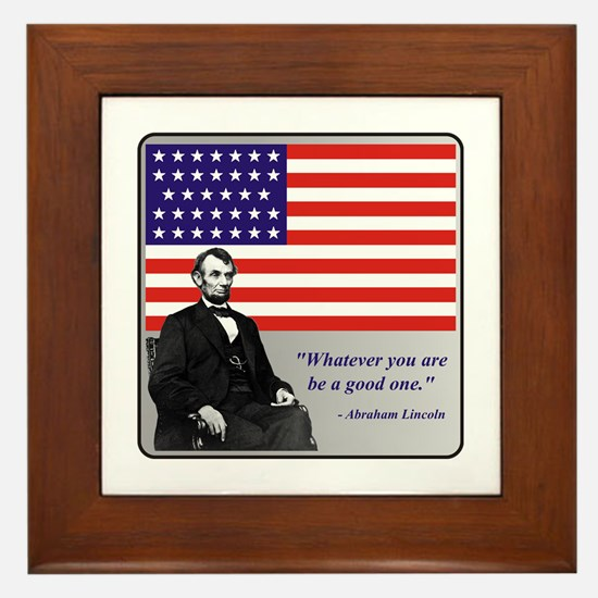 Lincoln Framed Tile