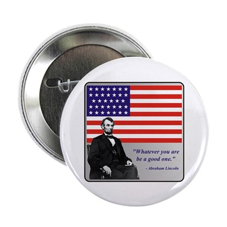 """Lincoln 2.25"""" Button (100 pack)"""