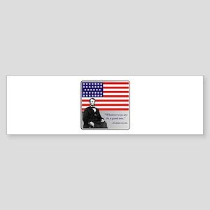 Lincoln Sticker (Bumper)