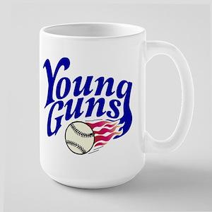 Young Guns Large Mug