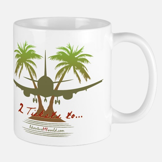 Cute Palm trees Mug