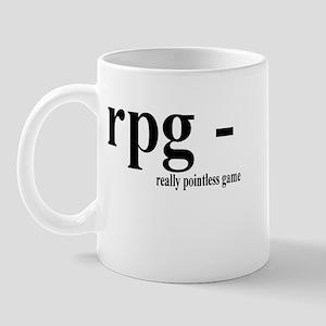 RPG - Really Pointless Game Mug