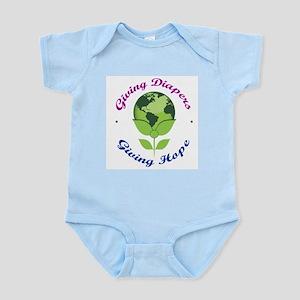 GDGH Planet Logo Design Infant Bodysuit