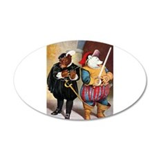 Roosevelt Bears Play Shakespeare 22x14 Oval Wall P