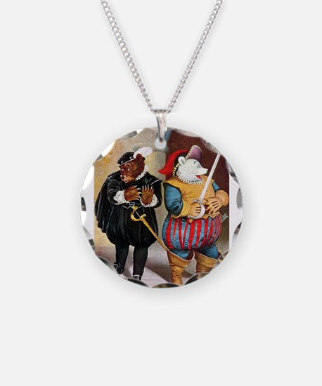 Roosevelt Bears Play Shakespeare Necklace