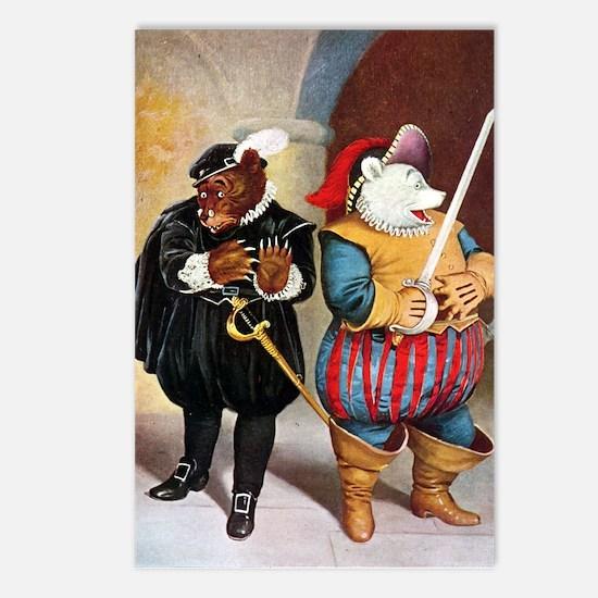 Roosevelt Bears Play Shakespeare Postcards (Packag