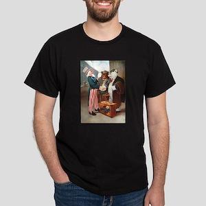 Roosevelt Bears Meet Uncle Sam Dark T-Shirt