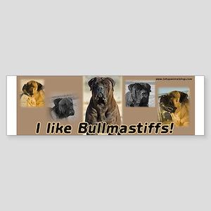 I like Bullmastiffs brown background.
