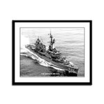 USS HANSON Framed Panel Print