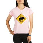 Rhino Crossing Sign Performance Dry T-Shirt