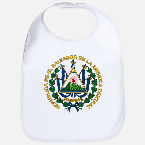 El Salvador Coat of Arms Bib