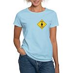 Penguin Crossing Sign Women's Light T-Shirt