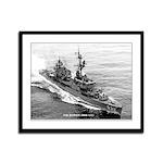 USS HANSON Framed Panel Print