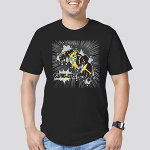 Transformers Comic Bum Men's Fitted T-Shirt (dark)