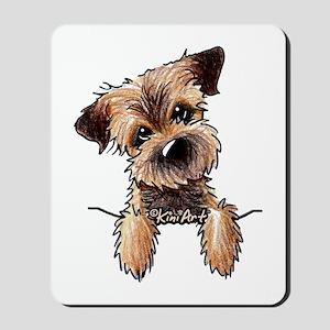 Pocket Border Terrier Mousepad
