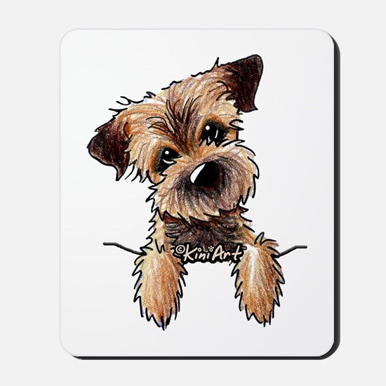 Pocket Border Terrier Mousepad